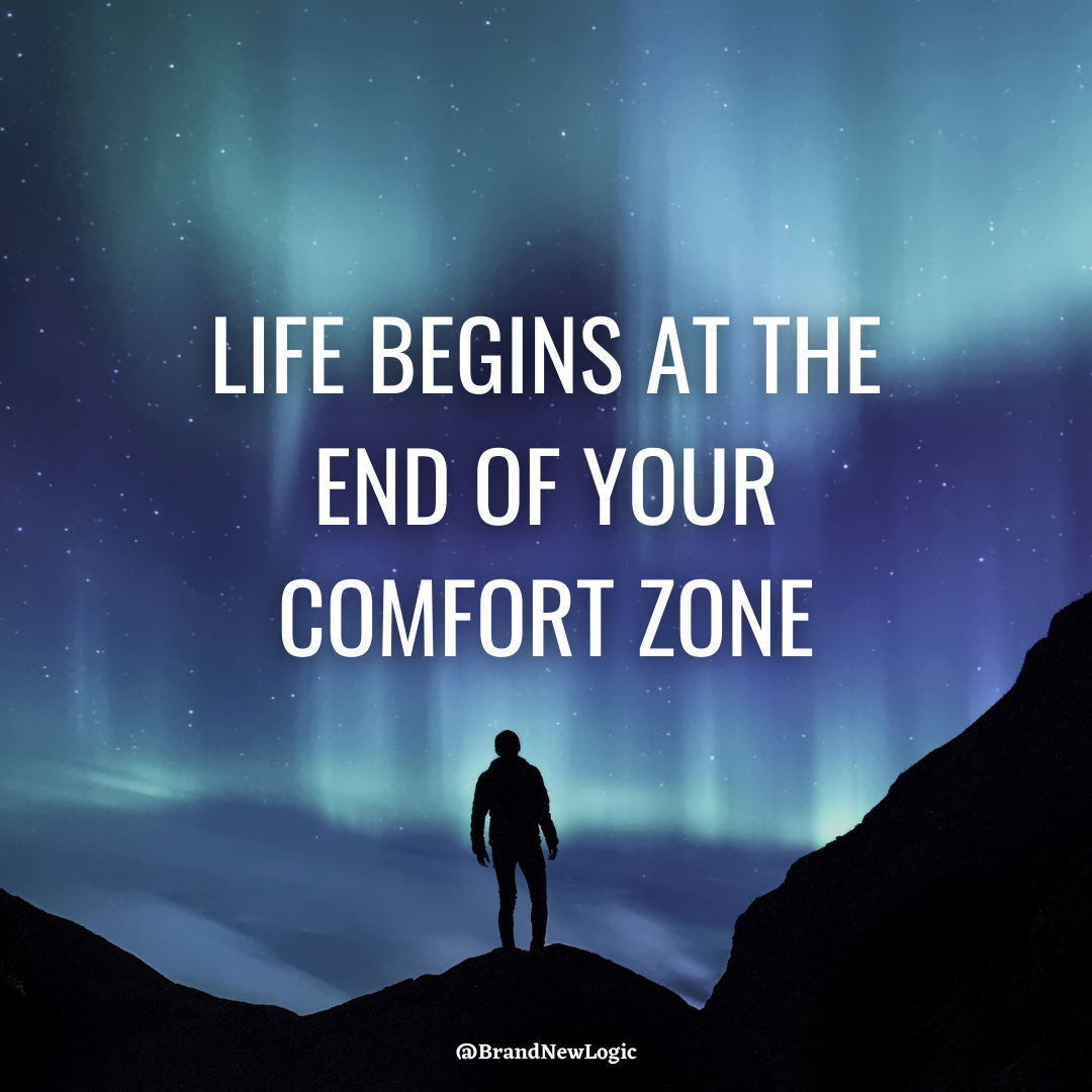 """Life begins at the end of your comfort zone."" – Neale Donald Walsch [1080×1080]"