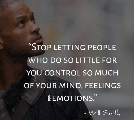 [Image] Stop letting people who do so little for you…