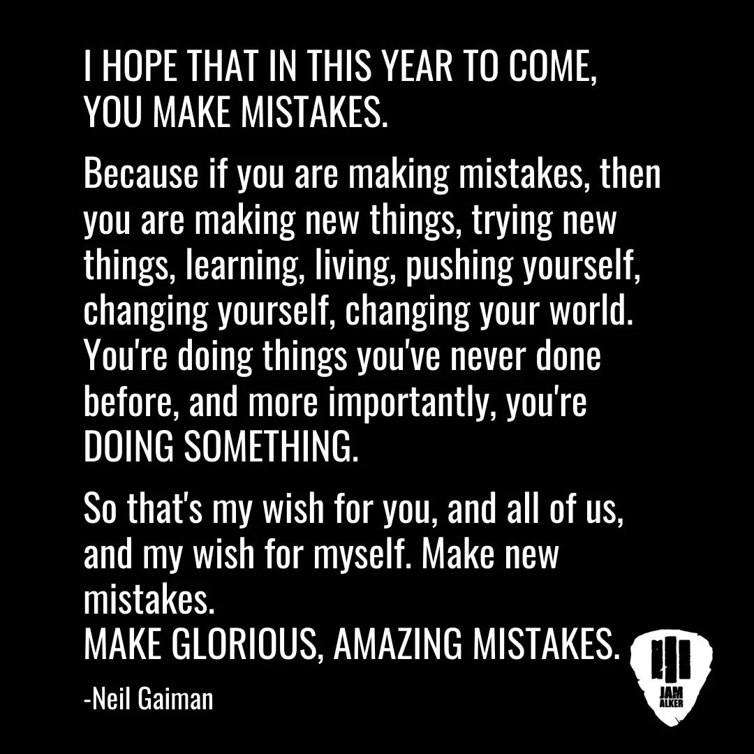 Make Mistakes. [Image]