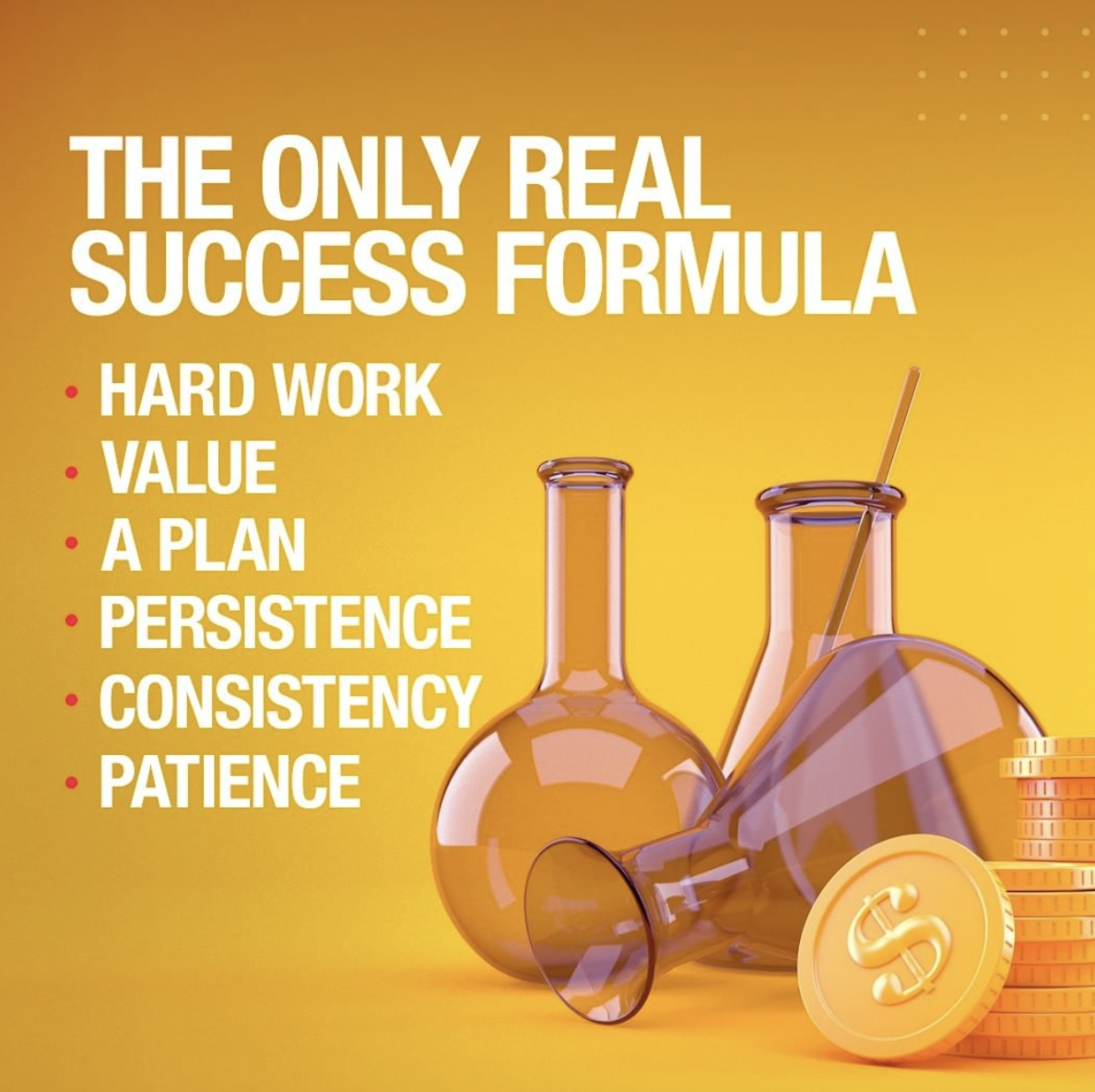 [Image] The only real success formula is based on 6 essential points