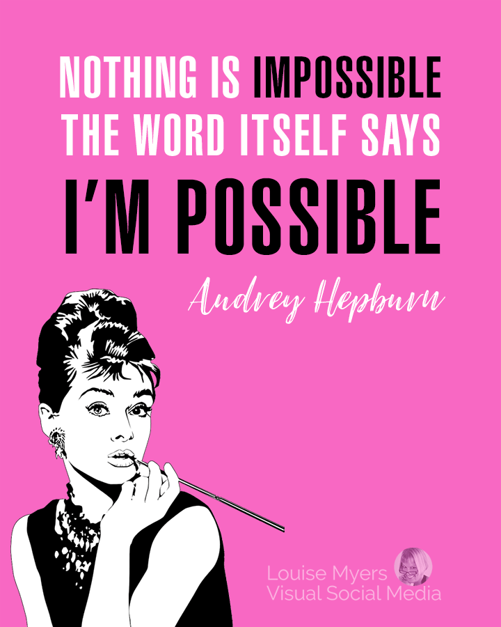 [Image] I'M POSSIBLE