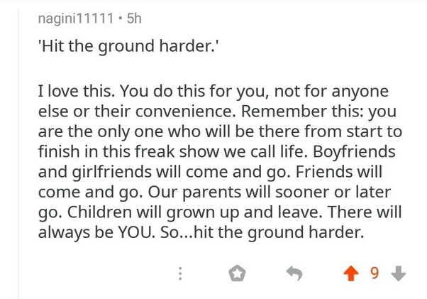 [Image] Hit the ground harder
