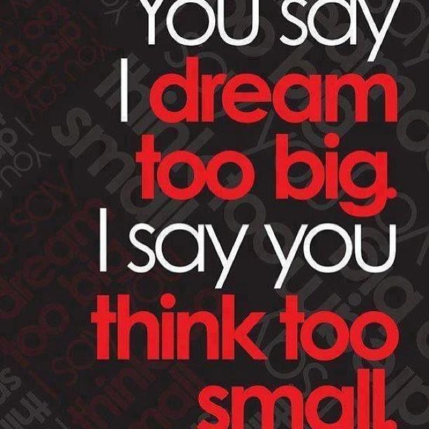 [IMAGE] – YOU SAY I DREAM……