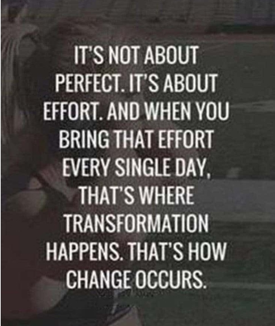 [Image] You don't have to be perfect