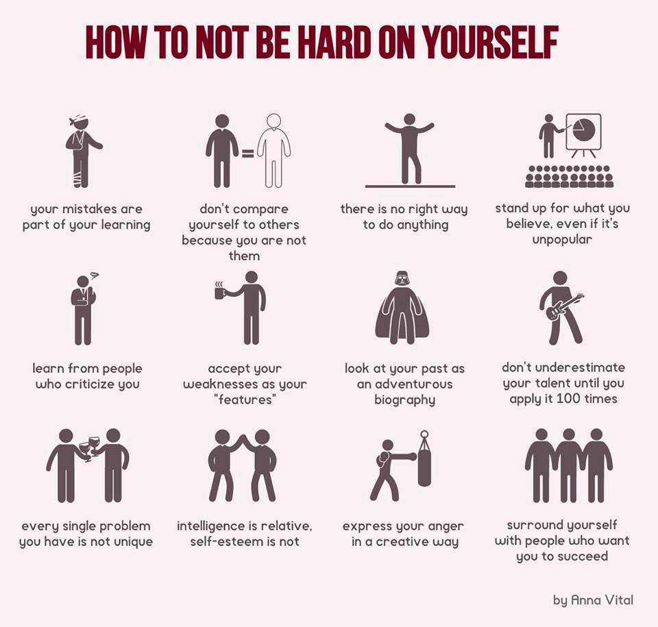 [Image] Don't be too harsh on yourself. You got this!