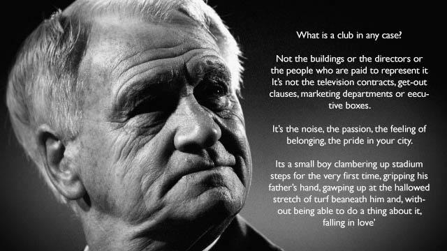 """What is a club in any case?"" – Sir Bobby Robson – [640×360]"