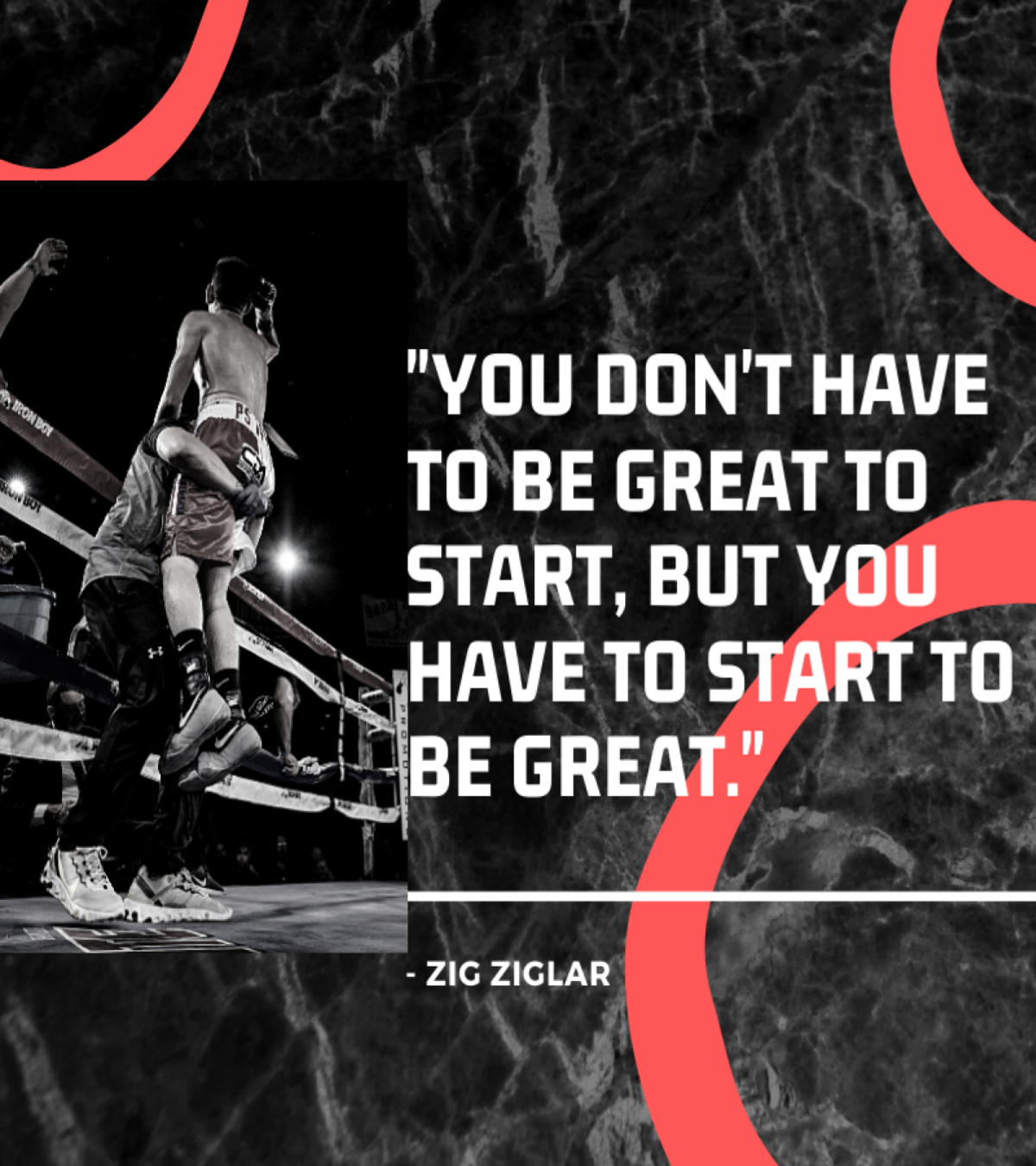 You don't have to be great to start, but you have to start to be great. – Zig Ziglar [1200X1350]