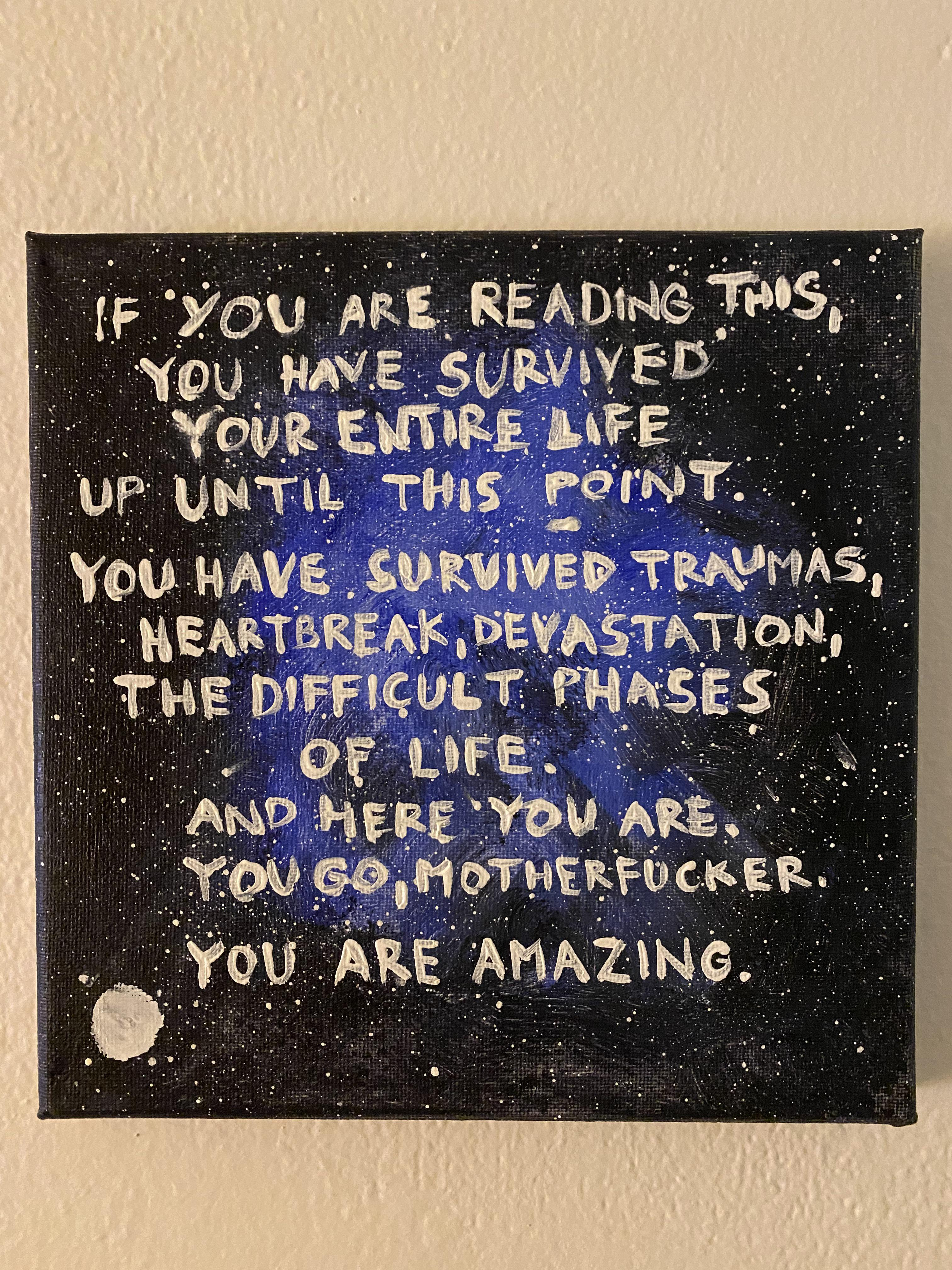 [Image] If you are reading this,