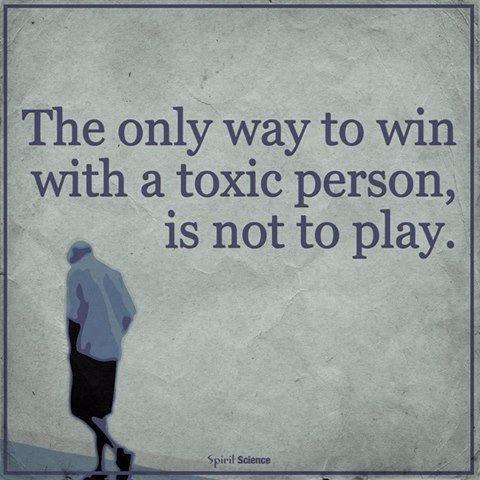 [IMAGE] Don't react to toxic people. Not giving them a reaction when they desperately seek it, is far more powerful.