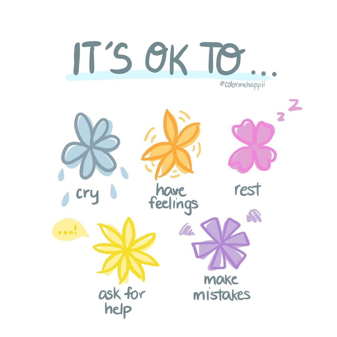 [Image] It's okay to…
