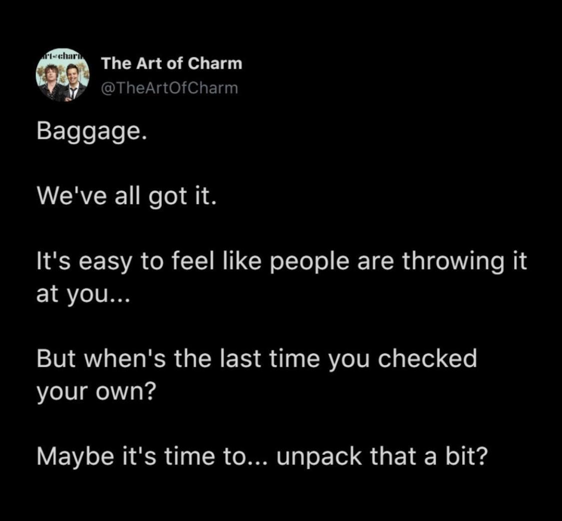 [Image] Baggage