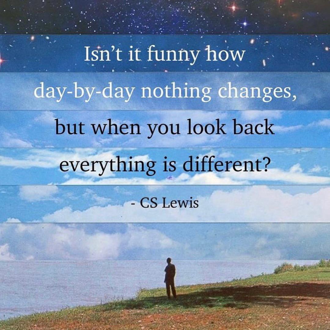Isn't it funny… – C.S. Lewis [1080×1080]
