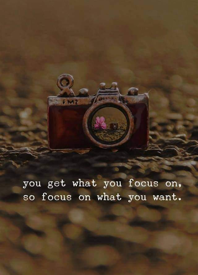 You get what you focus on,So focus on what you want.[640×887]
