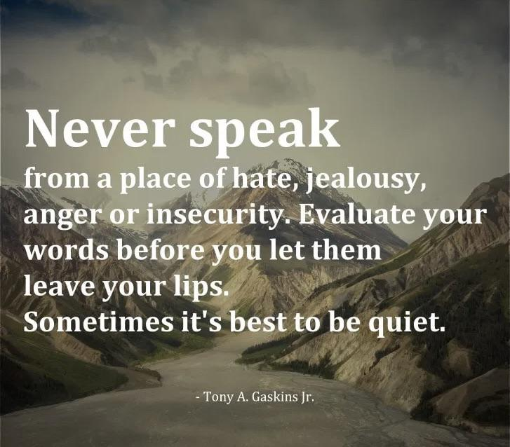 [IMAGE] Silence is golden.