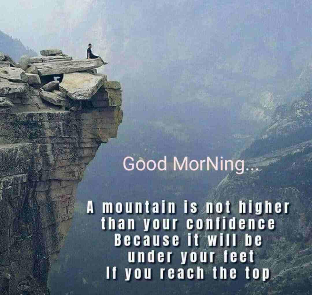 [Image] Nothing can be higher than your confidence.