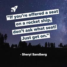 [IMAGE] IF YOU ARE OFFERED A SET ON A ROCKET SHIP.