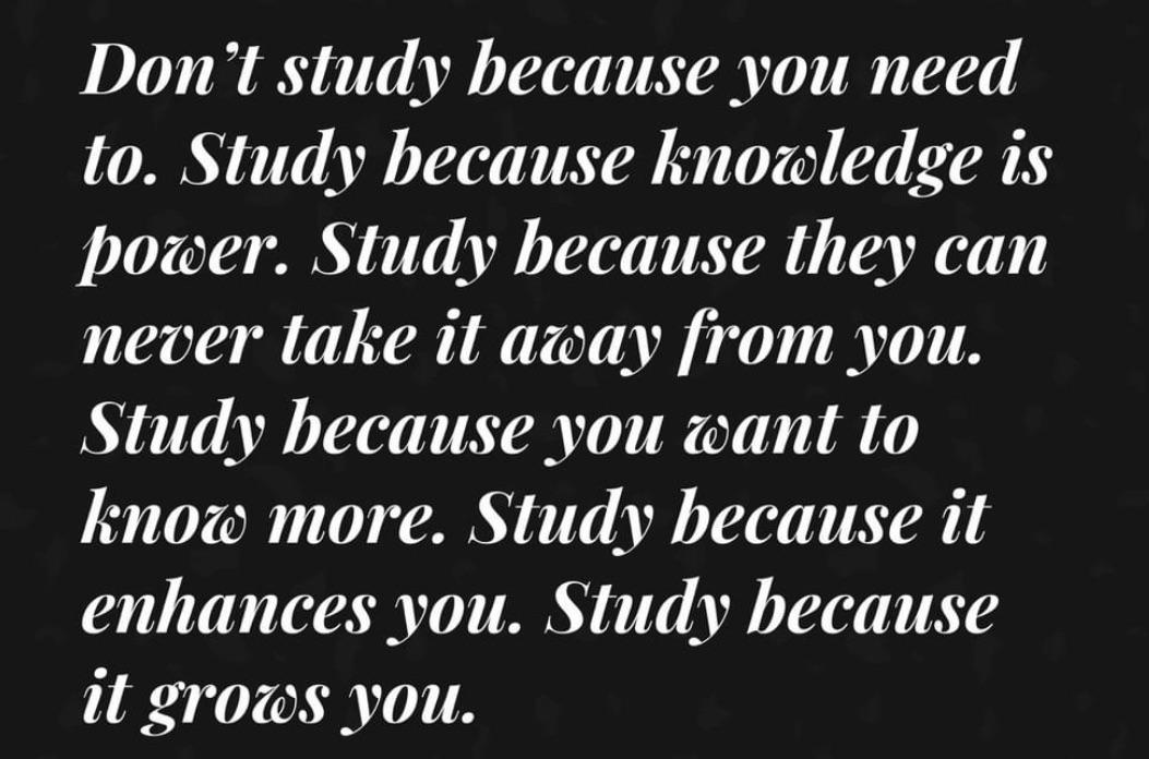 [image] Knowledge is power!