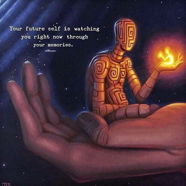[image] Even when no one's watching, you are (art by J.r. Slattum)