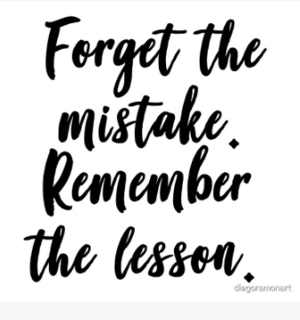 [Image] It's all about the lesson