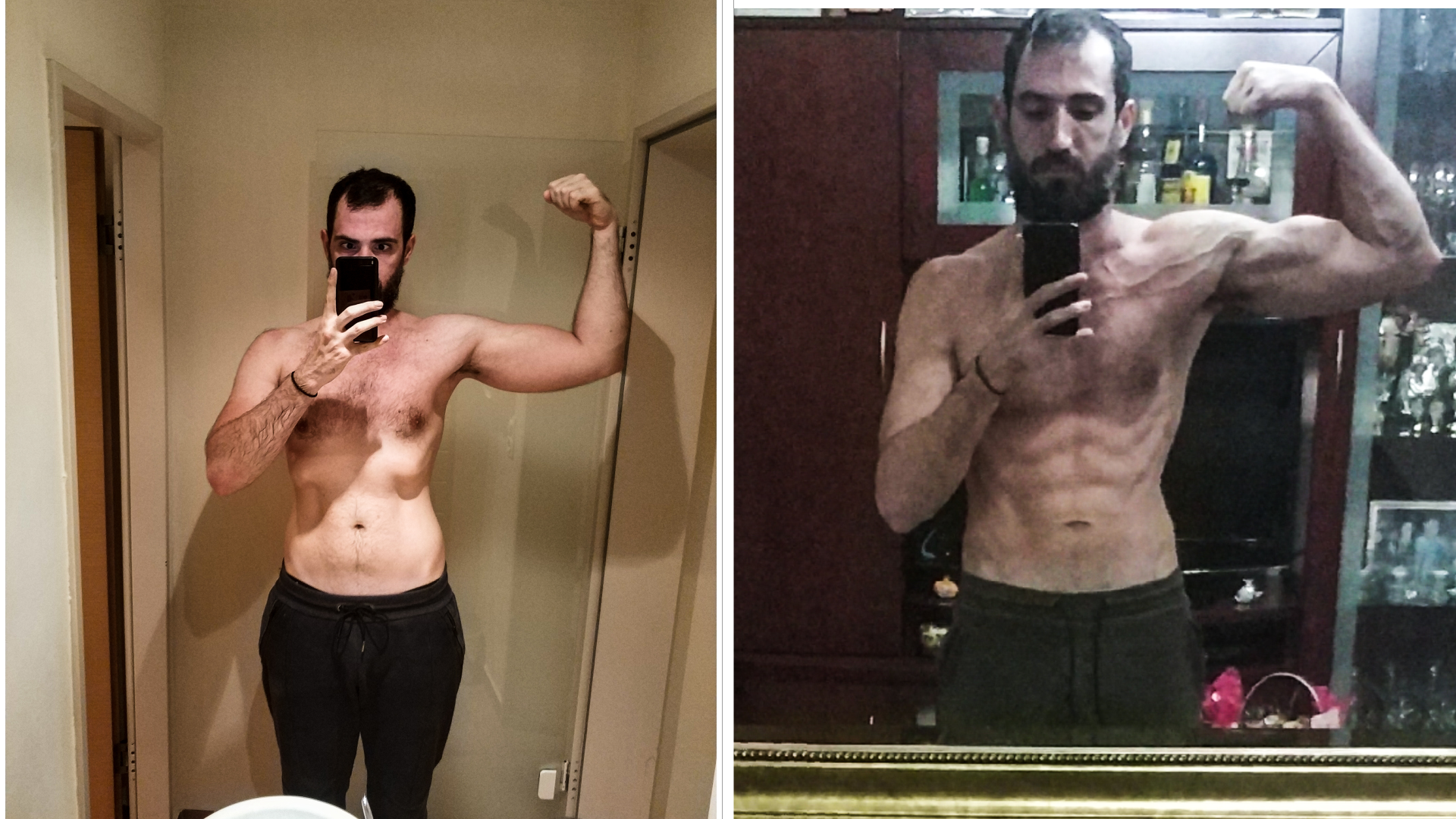 [Image] Hello to everyone, I would like to share my 1-year transformation with you, any limitation is in the mind and I hope to motivate you.