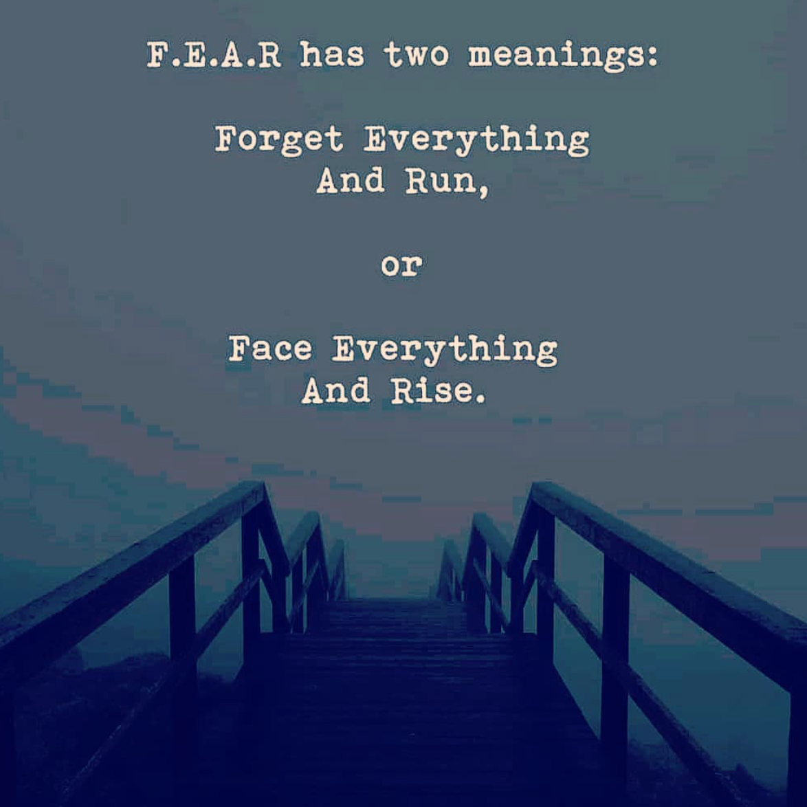 [Image] F.E.A.R. has two meanings. Choose the good one to rise.