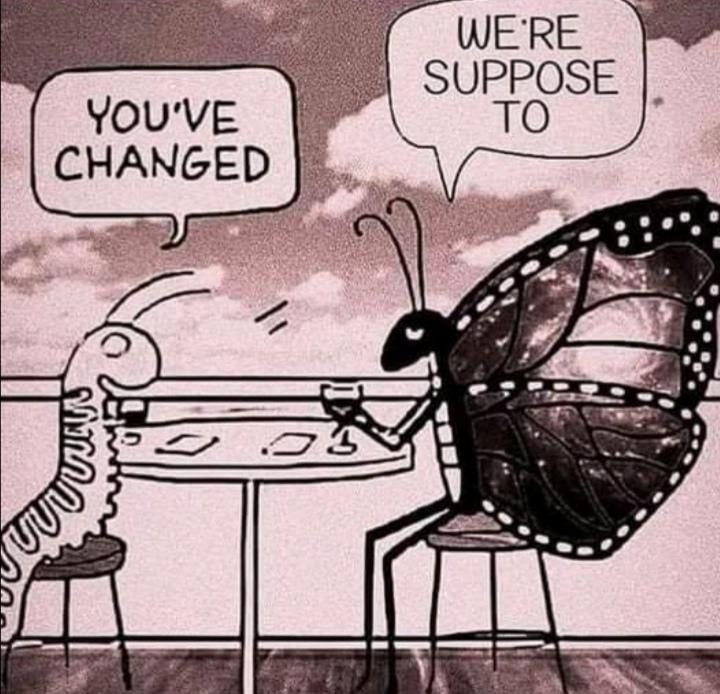 [IMAGE] Change is good!
