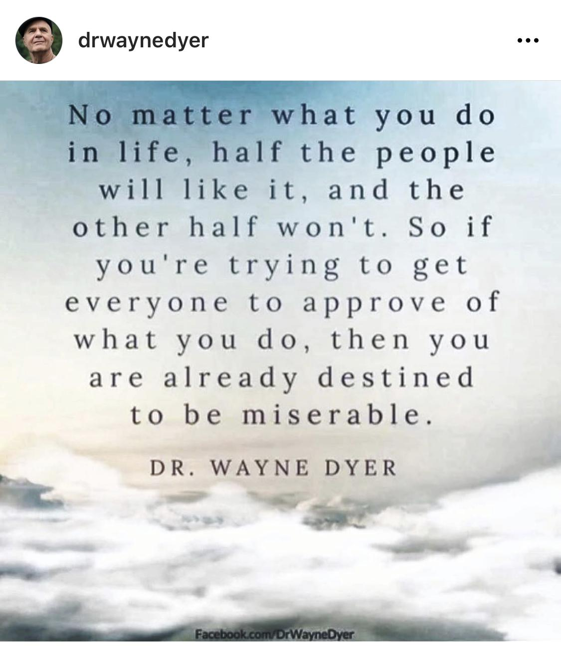 [Image] Stop trying to please everyone