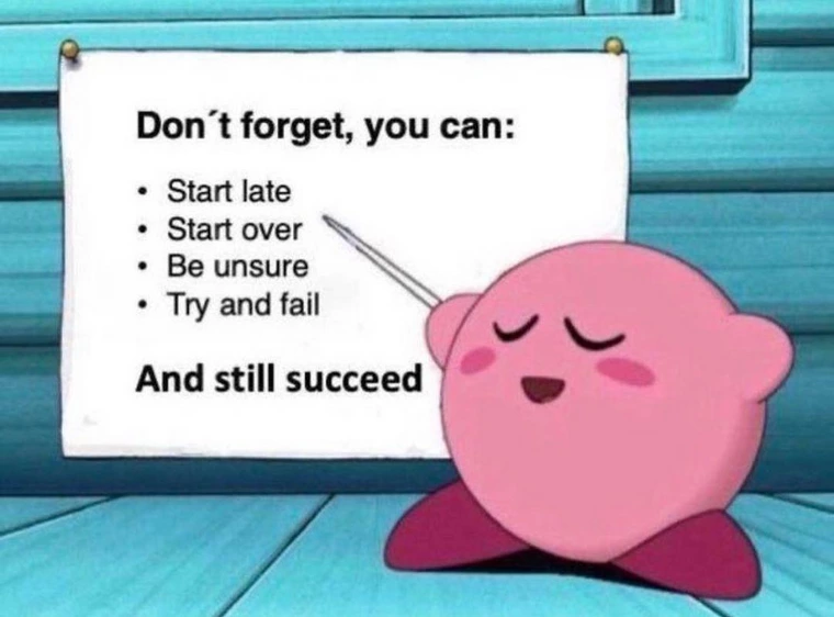 [Image] You can do it, everything is possible!
