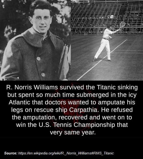 [Image] R. Norris Williams and the Titanic