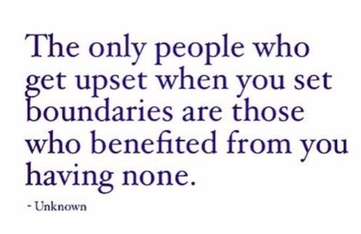 [Image] It's ok to set boundaries