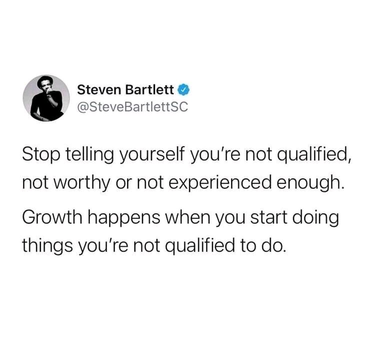 [image] All you have to do is start