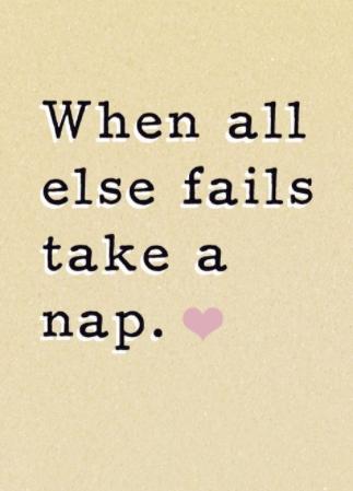 [Image] Take a nap