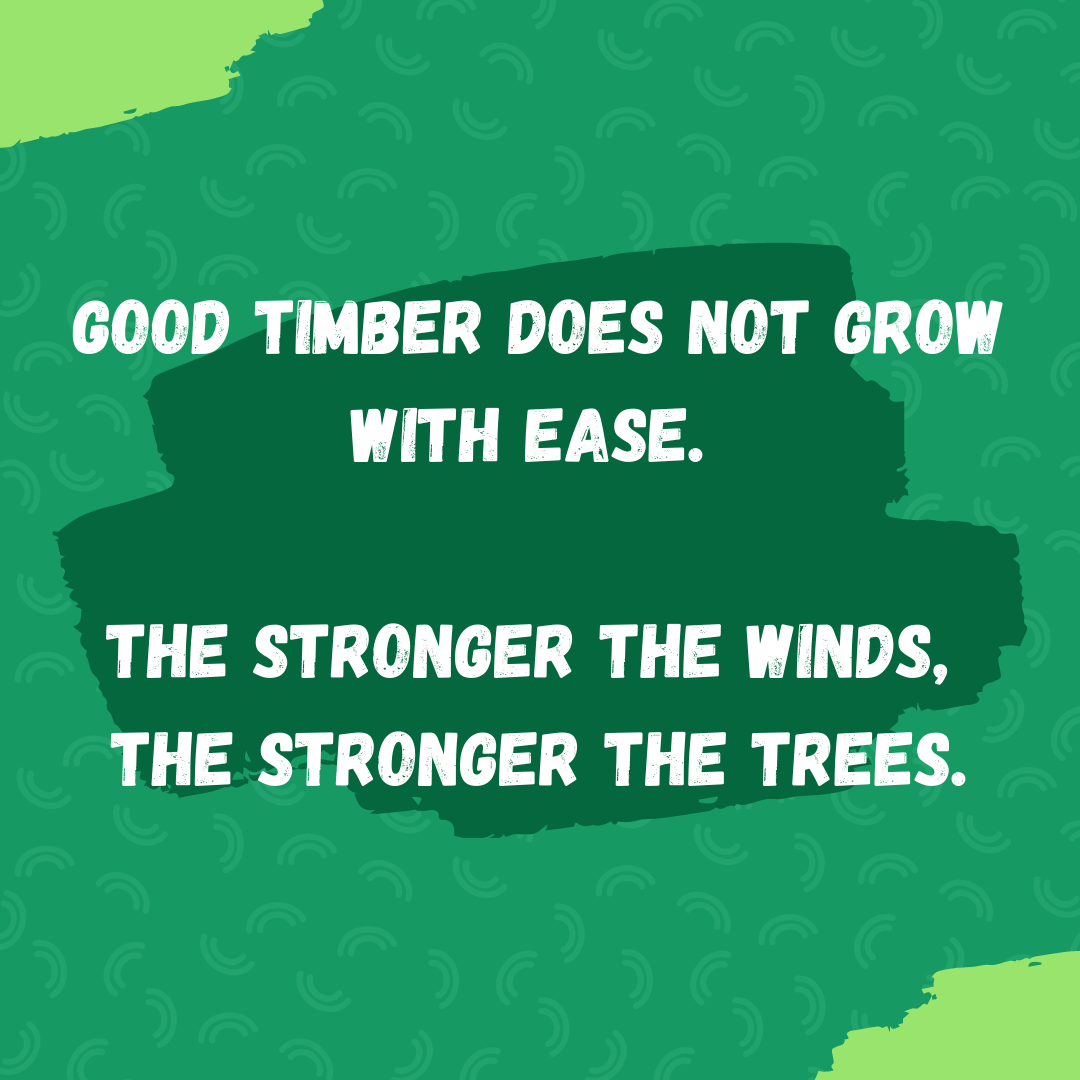 [Image] Struggle is essential for strength