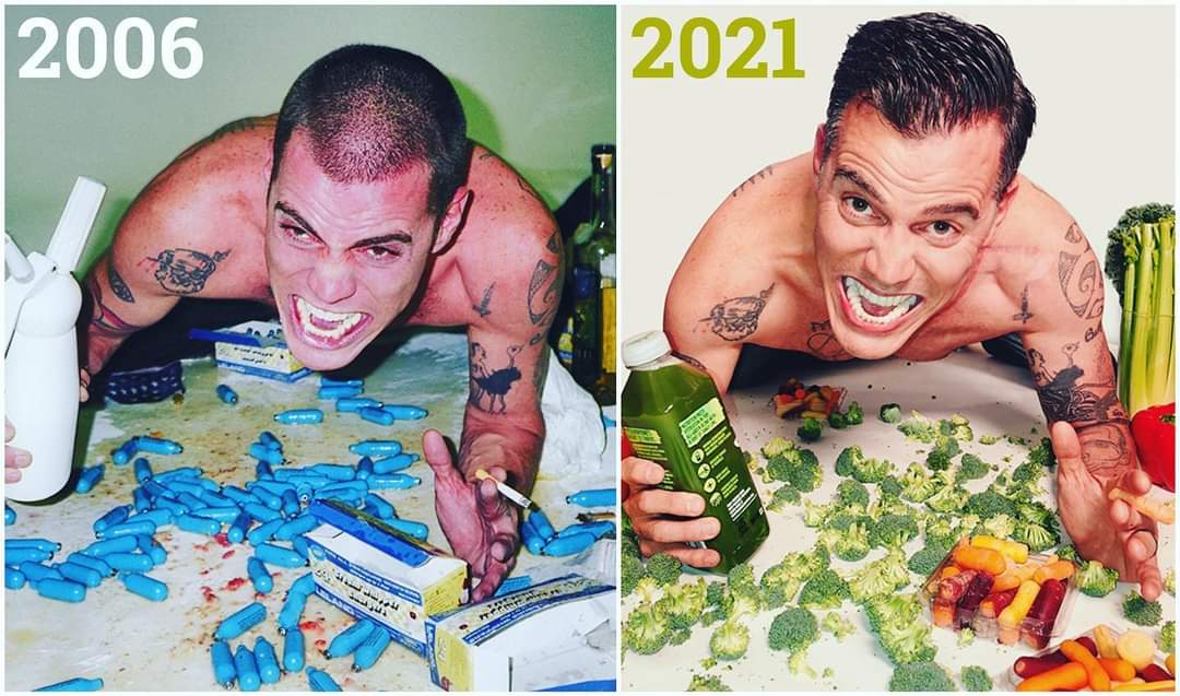 [Image] SteveO celebrating 13 years of sobriety today