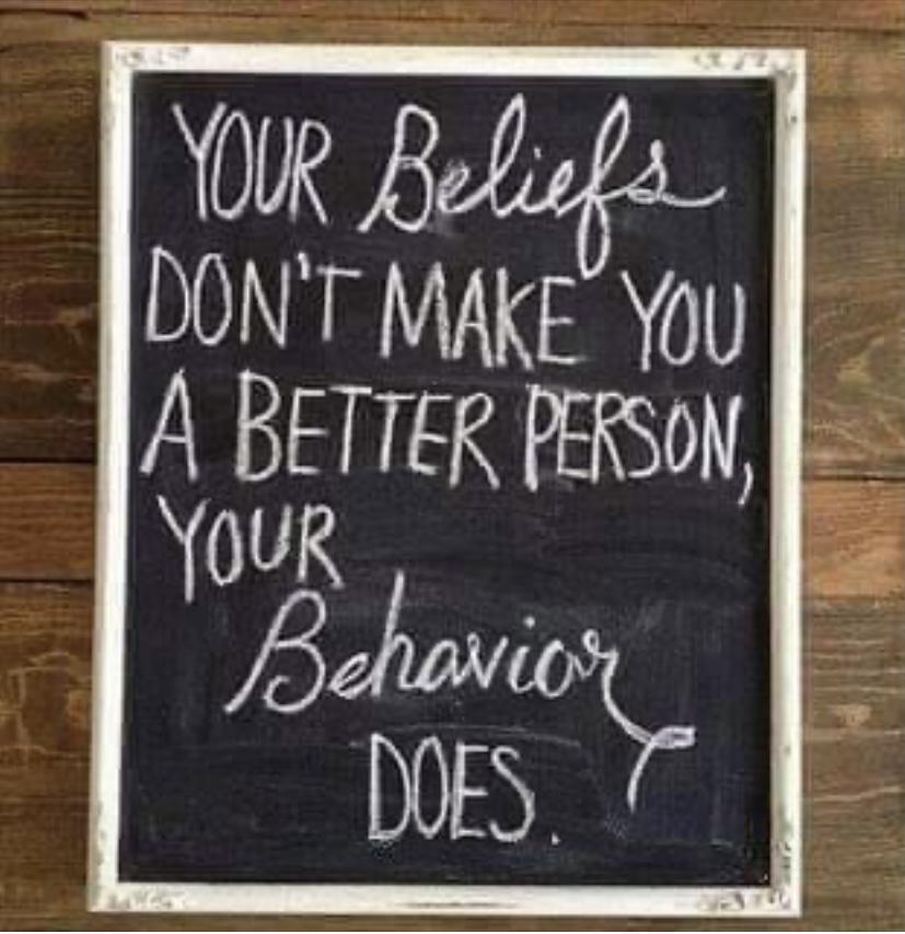 [Image] It's about your behavior