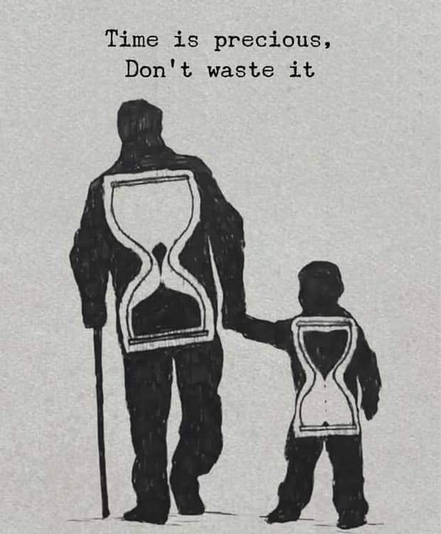 [Image] Time is precious