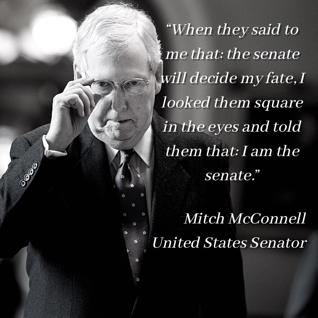 """When they said to me that: the senate will decide my fate, I looked them square in the eyes and told them that: I am the senate."" [1080×1080] From r/PlausibleQuotes"