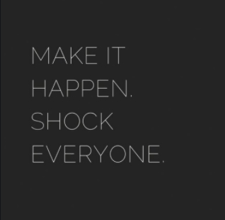 [Image] Make it happen