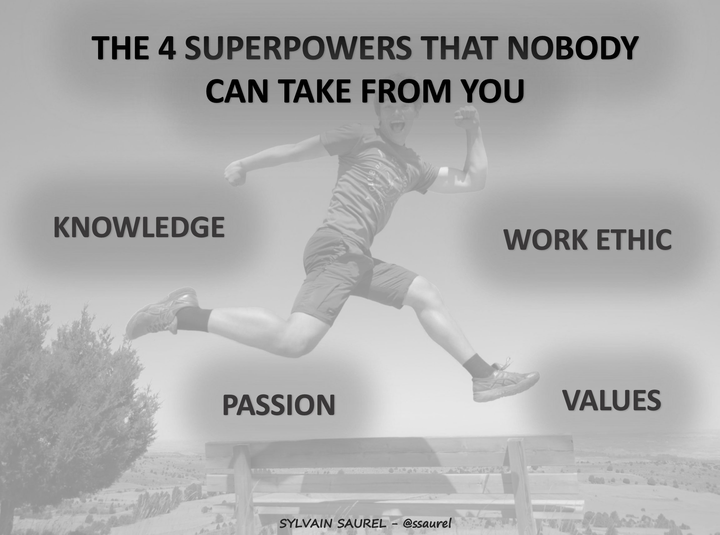 [Image] The 4 Superpowers That Nobody Can Take From You. Focus on developing these superpowers.