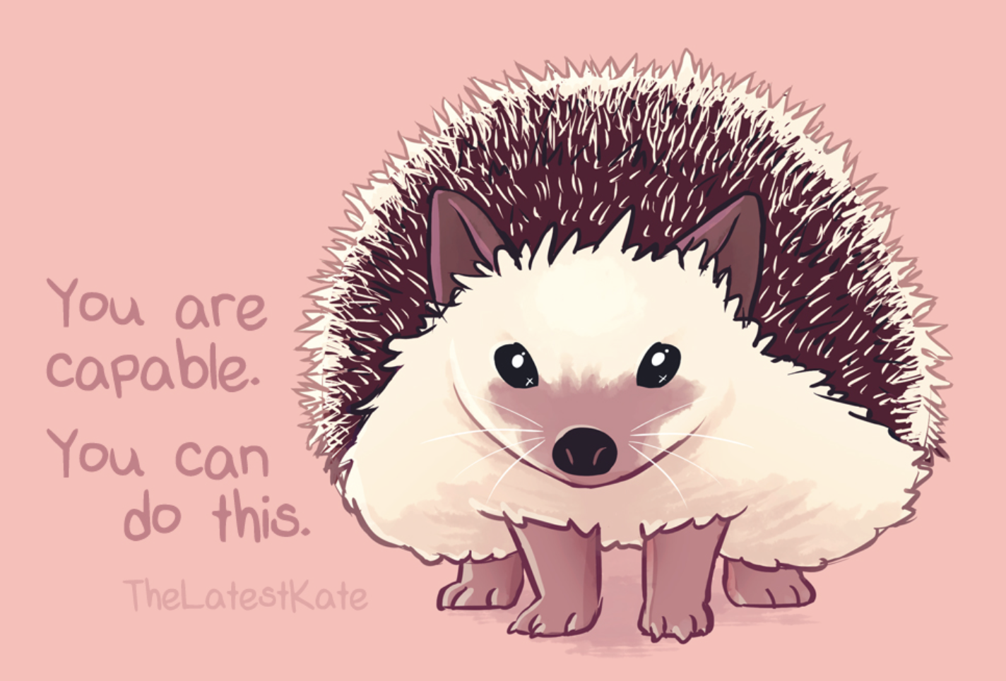 [Image] Wholesome hedgehog