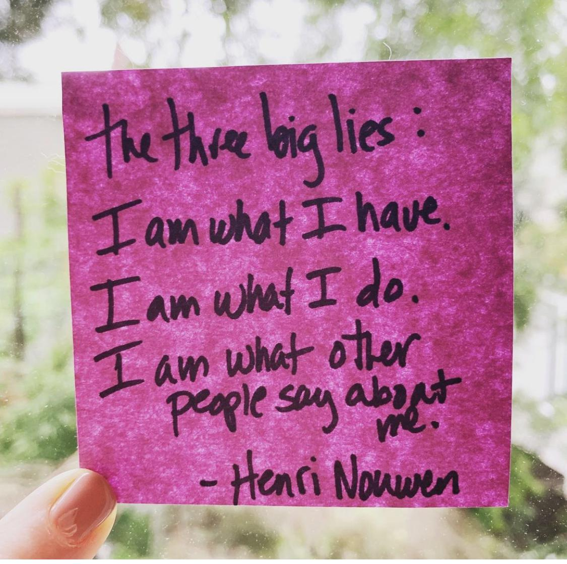 [Image] The 3 BIG lies