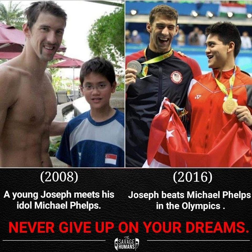 (2608) '(2016) A young Joseph meets his Joseph beats Michael Phelps idol Michael Phelps. in the Olympics . 7!] SAVAGE? HUMANS https://inspirational.ly