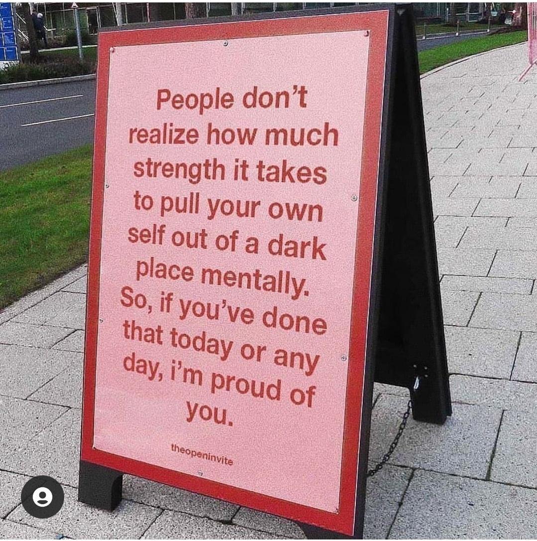 [Image] Motivational Sign