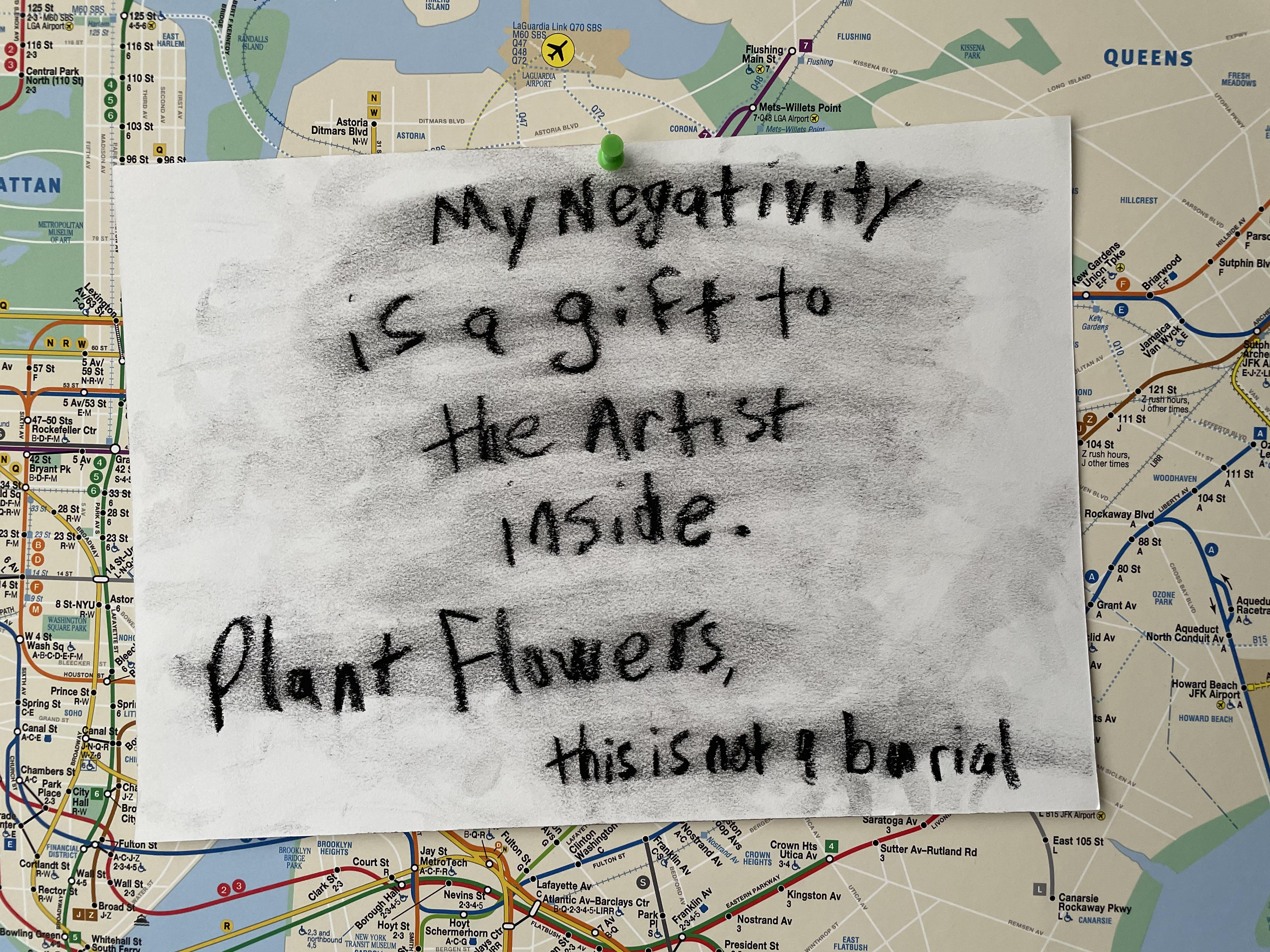 [Image] Plant Flowers, This Is Not a Burial.
