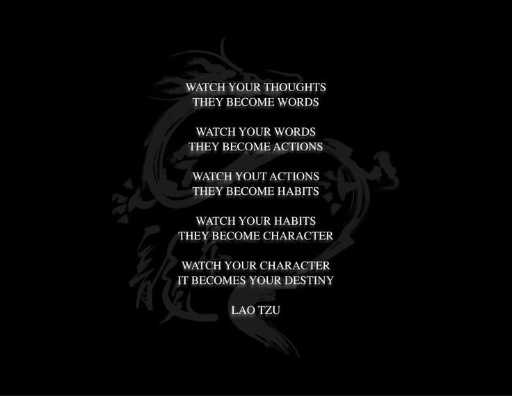 """Watch Your thoughts They become words"" -Lao Tzu (736×569)"