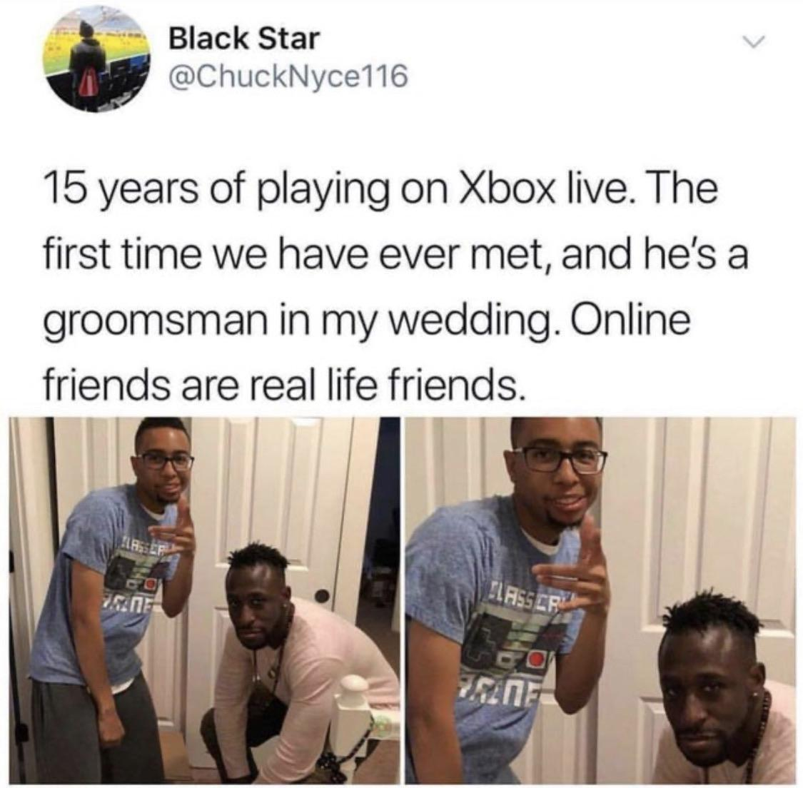[Image] Online friends are real life friends