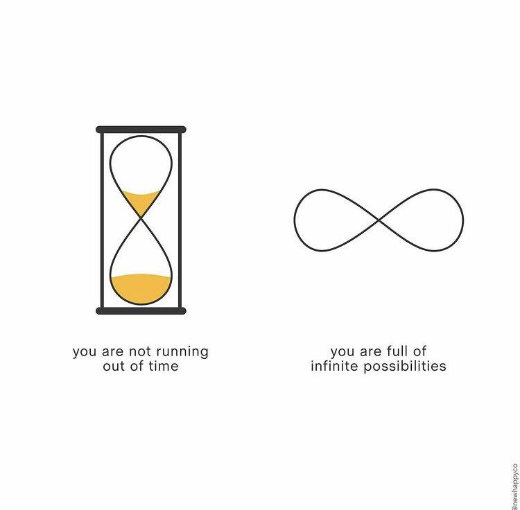 [Image] You are not running out of time