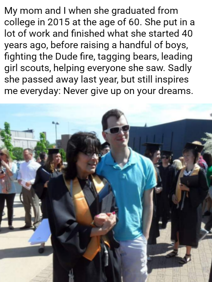 [Image] Saw a similar story and thought I'd share this here. Never give up on your dreams.