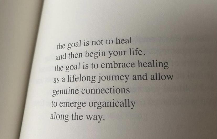 [Image] Embrace healing.
