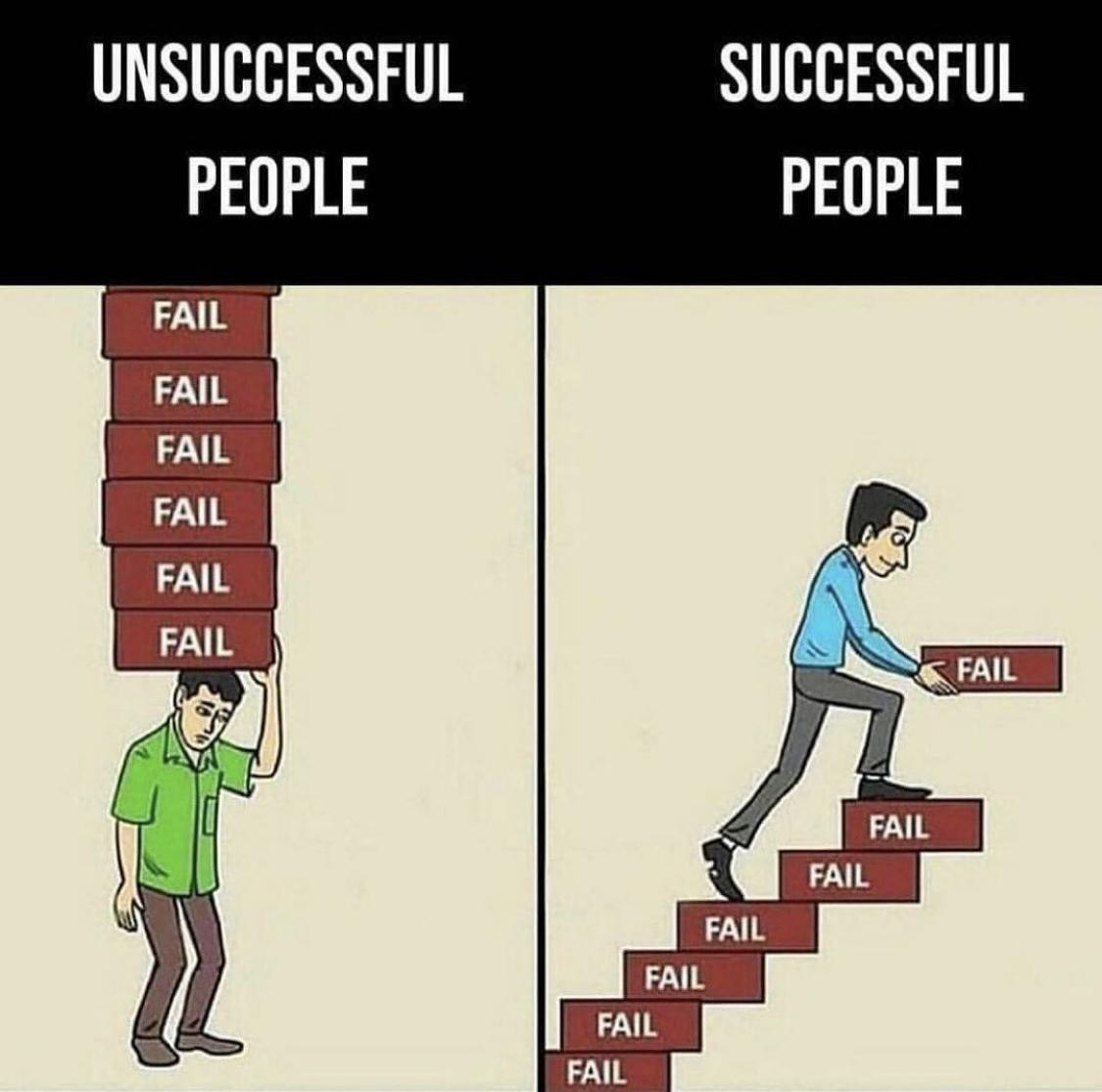 [Image] Use failure as a stepping stone…